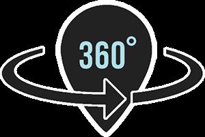 360 Virtual Tour Icon Funky Chocolate Club Interlaken Funky
